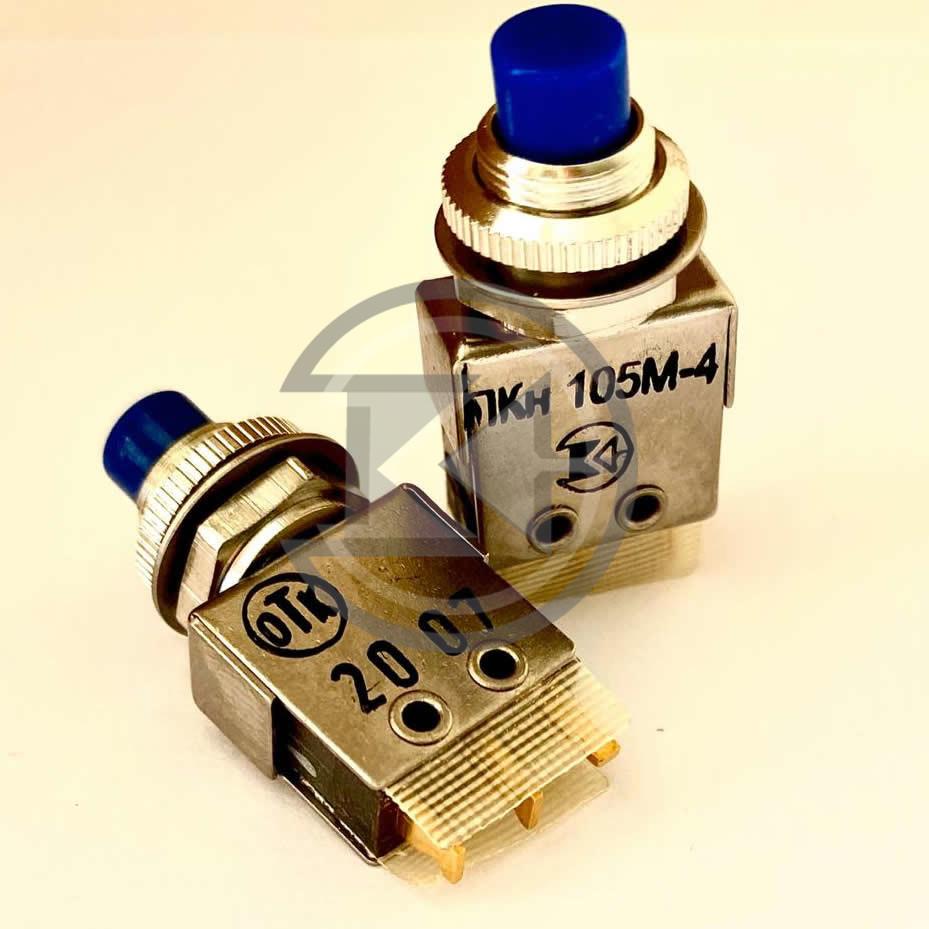 Переключатель кнопочный ПКн105М-1...8