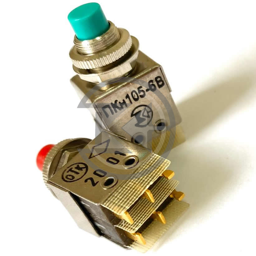 Переключатель кнопочный ПКн105-1...8