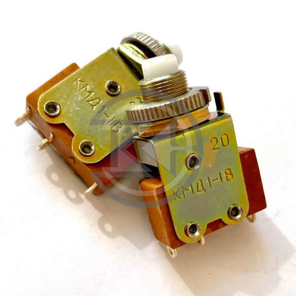 Купить кнопку малогабаритную КМД 1-1В оптом по цене производителя